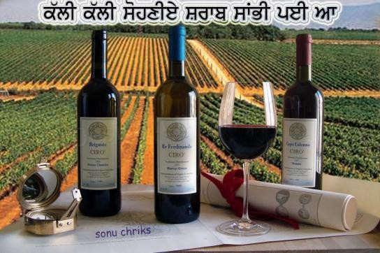 Kali kali sohniye sharab sambhi payi aa