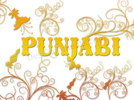 Punjabi.